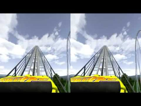 3D Rollercoaster: Ultimate (Remastered HD) (3D for PC/3D phones/3D TVs/Crossed Eyes)