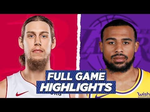 ROCKETS vs LAKERS FULL GAME HIGHLIGHTS | 2021 NBA SEASON