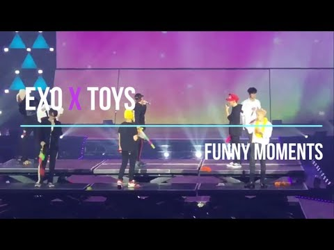 EXO x TOYS | Funny moments