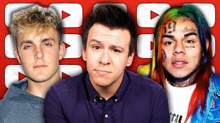 DISGUSTING! Huge Scam Exposed, Spotify Crackdown Stirs 6ix9ine Debate, Jake Paul Challenge, And More