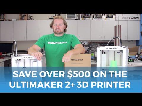 Ultimaker 2 3D Printer - SAVE over $500 // Deal Alert