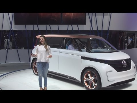 Volkswagen BUDD-e Concept (2016) Exterior and Interior in 3D