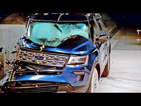 Ford Explorer (2018) Bad Result to Crash Test