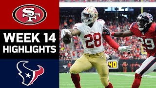 49ers vs. Texans   NFL Week 14 Game Highlights