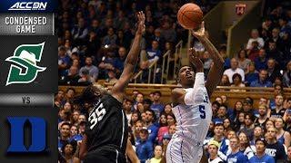Stetson vs. Duke Condensed Game | 2018-19 ACC Basketball