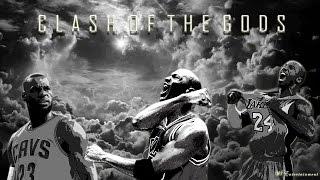 Michael  Jordan | Kobe Bryant | Lebron James - Clash of the Gods ᴴᴰ