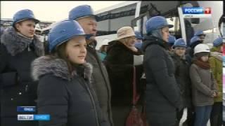 Студенты химического факультета ОмГУ побывали на Омском НПЗ