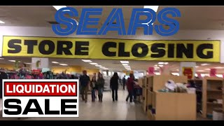 Sears Store Closing, Memorial City, Final Day 2018