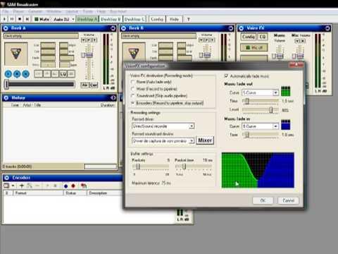 Instalando & Configurando el SAM Broadcaster para Radio
