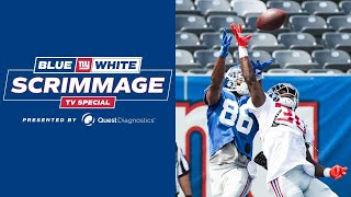 Final Blue-White Scrimmage Highlights; Joe Judge Mic'd Up | New York Giants