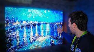 A TV DE 146 POLEGADAS DA SAMSUNG! MICROLED E MODULAR?