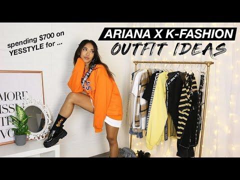 Ariana Grande x K-Fashion Inspired Outfit Ideas! (aka I spent $700 on YesStyle)   Nava Rose