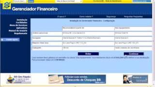 o gerenciador financeiro bb