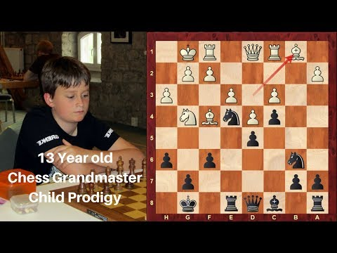 Child Chess Prodigy! : 13-year-old steals the limelight from Carlsen and the Super Grandmasters!