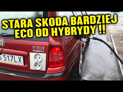 Stara Skoda bardziej ECO od nowej hybrydy PLUG-IN? Jak to możliwe?