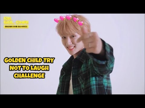 GOLDEN CHILD TRY NOT TO LAUGH CHALLENGE
