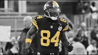 "Antonio Brown Highlights ""Black and Yellow"""
