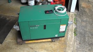 Miniature Diesel Generator Diagnose, Repair, Test ONAN RV QD3200