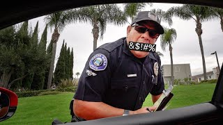 YOU WON'T BELIEVE WHAT THIS COP YELLS AT ME...