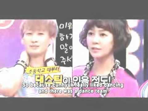 (ENG) Strong heart - Eunhyuk aka Yoo Jihyuk Childhood story