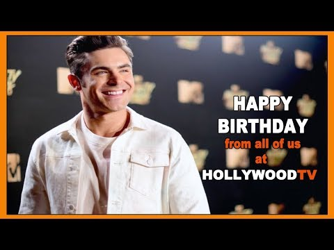 Happy Birthday Zac Efron and Tyler Posey - Hollywood TV