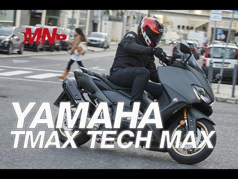 Prueba Yamaha TMAX Tech MAX 2020 [FULLHD]