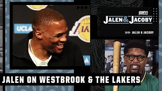 'You fit in anywhere when you average a triple-double' - Jalen on Russell Westbrook | Jalen & Jacoby
