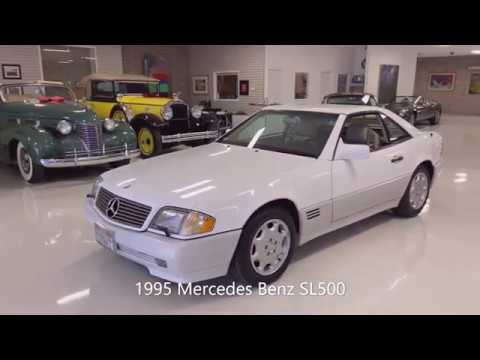 video 1995 Mercedes Benz SL500