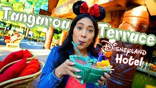 New! Tangaroa Terrace Reopens at the Disneyland Hotel with New Drinks and Food! Disneyland 2019