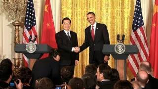 President Obama and President Hu Press Conference