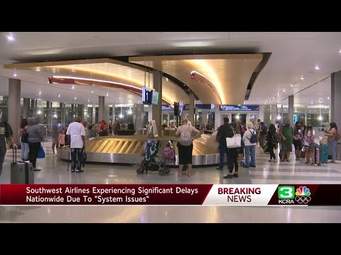Delays continue for 2nd day on Southwest Airlines due to system outages