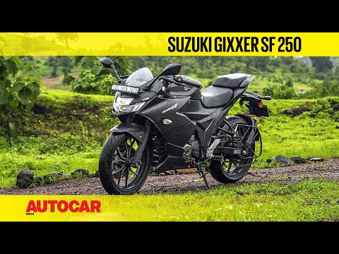 video Suzuki Gixxer SF 250