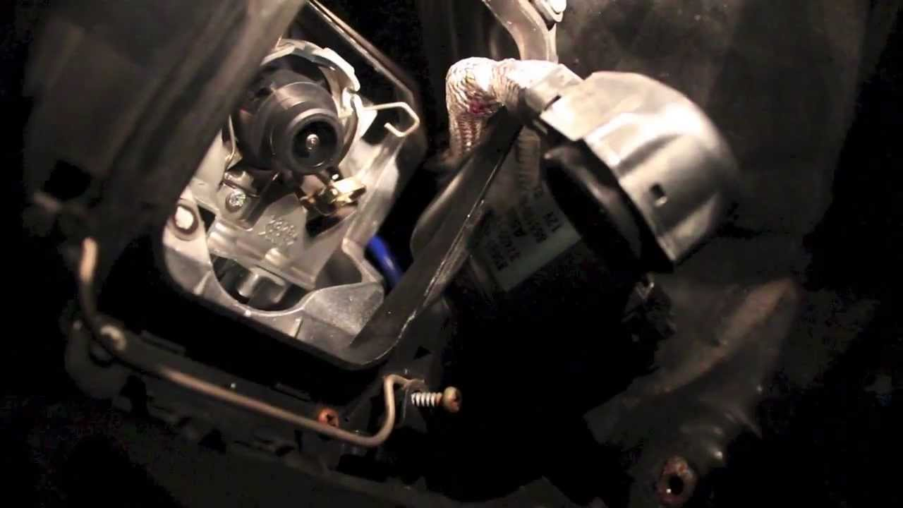 Lexus D4s Headlight Bulb Replacement Is250 350 Youtube