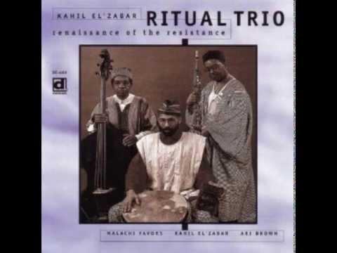 Renaissance Of The Resistance / Kahil El'Zabar's Ritual Trio online metal music video by KAHIL EL'ZABAR