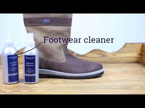 How to clean your Dubarry Ultima Sailing Boots