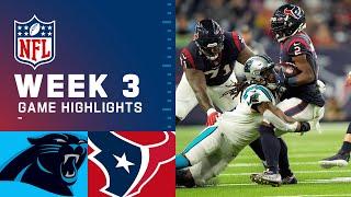 Carolina Panthers vs. Houston Texans Week 3 | 2021 NFL Game Highlights