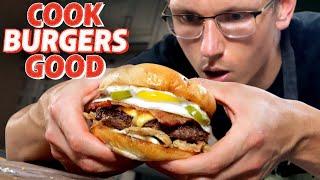 Mythical Chef Josh's Perfect Burger