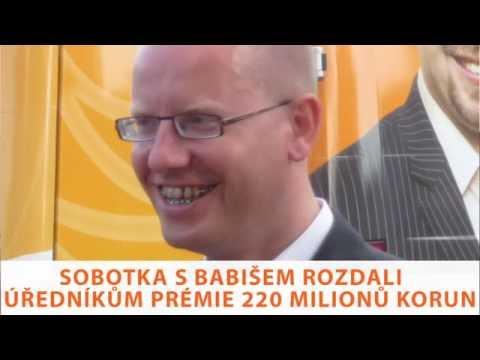 Tomio Okamura: Sobotka s Babišem rozdali úředníkům prémie 220 milionů korun