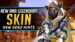 Overwatch NEW Legendary Skin and Possible New Hero Hints