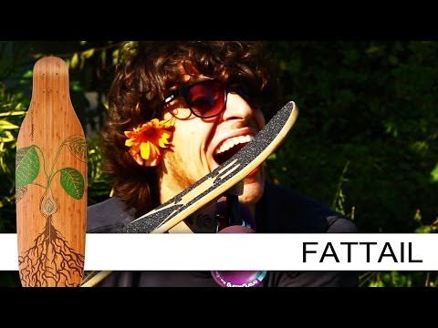 Video LOADED BOARDS Longboard COMPLETE FATTAIL FLEX 2 Multi Color