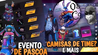 TUDO DO EVENTO DE PÁSCOA, CAMISAS DE TIME DE VOLTA E NOVO DINO ANGELICAL - FREE FIRE