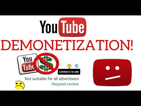 I GOT MY CHANNEL RE-MONETIZED AFTER BEING DEMONETIZED. HERE'S WHAT I DID