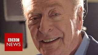 Michael Caine:  'Can't vote for an actor just because he's black'  - BBC News