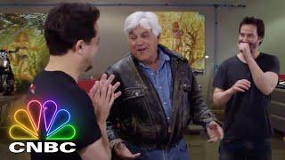 Keanu Reeves And Jay Leno Talk Motorcycles | Jay Leno's Garage