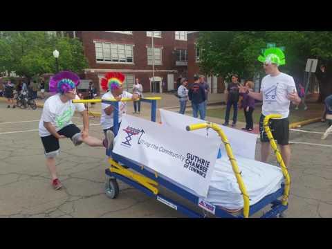 Autoquip Participates in Bed Race 2017