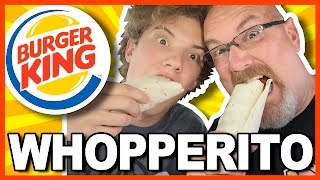 Burger King Whopperito Review with Ken & Ben in Ohio