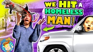 WE RAN INTO A HOMELESS MAN & his PET FERRET GOES FLYING! FUNnel Family Payback Vlog