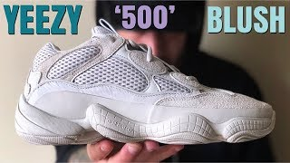 ADIDAS YEEZY (500) BLUSH/DESERT RAT REVIEW!!! IS THIS THE BEST ADIDAS YEEZY TO EVER RELEASE???