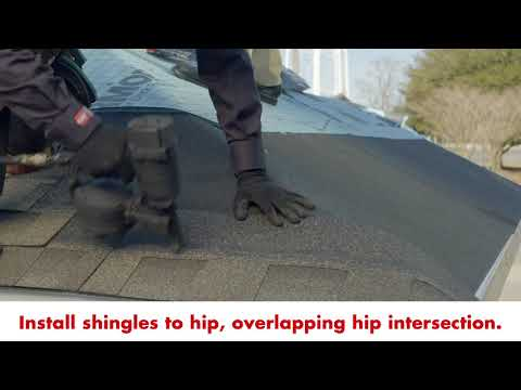 GAF Pro Series Timberline® Shingles Hips