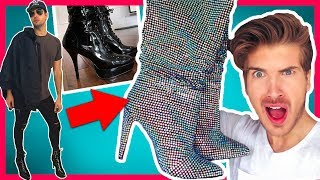 WE TRIED WEARING HIGH HEELS FOR A DAY!